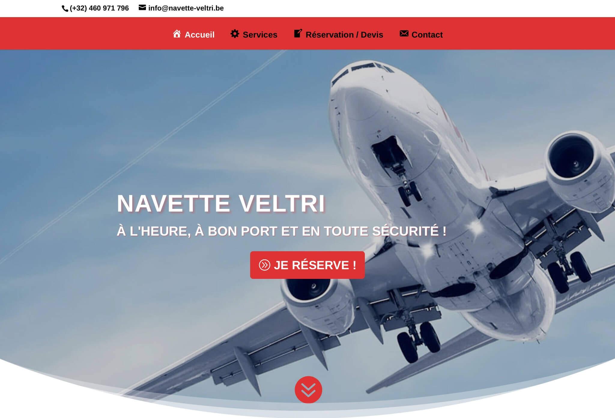 Aperçu site Navette Veltri